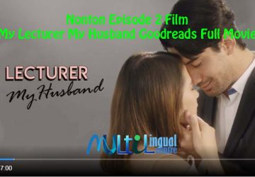 Nonton Episode 2 Film My Lecturer My Husband Goodreads Full Movie